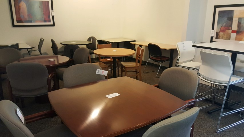 Breakroom Tables Chairs Action Business Furniture